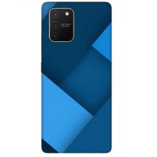 """Samsung Galaxy S10 lite TPU dėklas unikaliu dizainu 1.0 mm """"u-case Airskin Blue design"""""""
