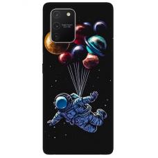 """Samsung Galaxy S10 lite TPU dėklas unikaliu dizainu 1.0 mm """"u-case Airskin Cosmo design"""""""