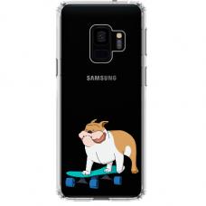 "Samsung Galaxy a8 2018 TPU dėklas unikaliu dizainu 1.0 mm ""u-case Airskin Doggo 2 design"""