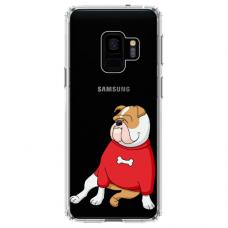 "Samsung Galaxy a8 2018 TPU dėklas unikaliu dizainu 1.0 mm ""u-case Airskin Doggo 5 design"""