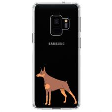 "Samsung Galaxy a8 2018 TPU dėklas unikaliu dizainu 1.0 mm ""u-case Airskin Doggo 6 design"""