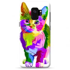 "Samsung Galaxy S9 TPU dėklas unikaliu dizainu 1.0 mm ""u-case Airskin Kitty design"""