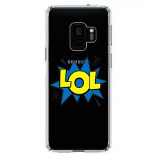 """Samsung Galaxy a8 2018 TPU dėklas unikaliu dizainu 1.0 mm """"u-case Airskin LOL design"""""""