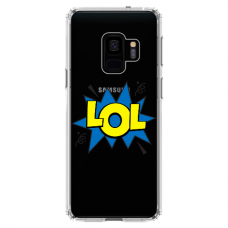 "Samsung Galaxy a6 plus 2018 TPU dėklas unikaliu dizainu 1.0 mm ""u-case Airskin LOL design"""