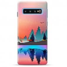 """Samsung Galaxy S10 TPU dėklas unikaliu dizainu 1.0 mm """"u-case Airskin Nature 5 design"""""""