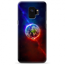 "Samsung Galaxy a6 plus 2018 TPU dėklas unikaliu dizainu 1.0 mm ""u-case Airskin Nature 4 design"""