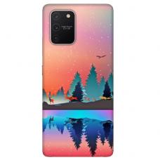 """Samsung Galaxy S10 lite TPU dėklas unikaliu dizainu 1.0 mm """"u-case Airskin Nature 5 design"""""""