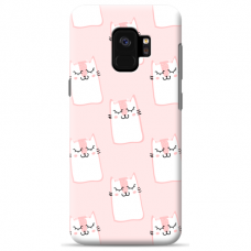 "Samsung Galaxy a8 2018 TPU dėklas unikaliu dizainu 1.0 mm ""u-case Airskin Pink Kato design"""