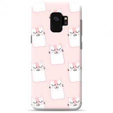 "Samsung Galaxy a6 plus 2018 TPU dėklas unikaliu dizainu 1.0 mm ""u-case Airskin Pink Kato design"""