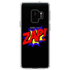 """Samsung Galaxy S9 TPU dėklas unikaliu dizainu 1.0 mm """"u-case airskin ZAP design"""""""