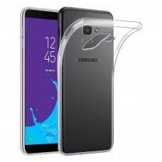 Samsung galaxy j6 plus 2018 DĖKLAS HIGH CLEAR 1,0MM SILIKONAS SKAIDRUS
