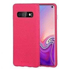 """Samsung galaxy s10 dėklas Mercury Goospery """"Style Lux"""" TPU koralo spalvos"""