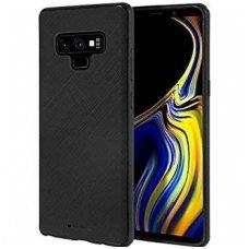 """Samsung galaxy note 9 dėklas Mercury Goospery """"Style Lux"""" TPU juodas"""