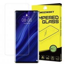 """Akcija! Huawei p30 pro  plėvelė ekrano apsauga """"Wozinsky 3D Screen Protector Film Full"""" pilnai dengianti skaidri"""