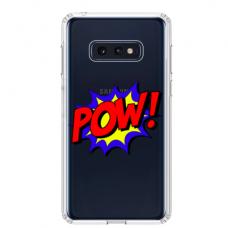 "Samsung Galaxy S10e TPU DĖKLAS UNIKALIU DIZAINU 1.0 MM 1.0 mm ""u-case airskin POW design"""
