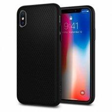 Iphone XR Spigen Liquid Air matinis juodas