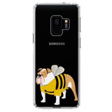 "Samsung Galaxy a8 2018 TPU dėklas unikaliu dizainu 1.0 mm ""u-case Airskin Doggo 1 design"""