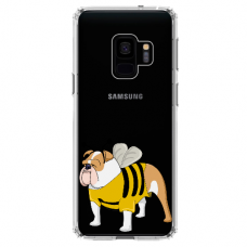 "Samsung Galaxy a6 plus 2018 TPU dėklas unikaliu dizainu 1.0 mm ""u-case Airskin Doggo 1 design"""