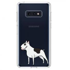 "Samsung Galaxy S10e TPU dėklas unikaliu dizainu 1.0 mm ""u-case Airskin Doggo 3 design"""