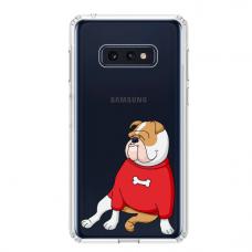 "Samsung Galaxy S10e TPU dėklas unikaliu dizainu 1.0 mm ""u-case Airskin Doggo 5 design"""