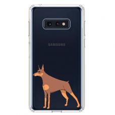 "Samsung Galaxy S10e TPU dėklas unikaliu dizainu 1.0 mm ""u-case Airskin Doggo 6 design"""
