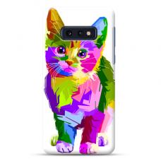 "Samsung Galaxy S10e TPU dėklas unikaliu dizainu 1.0 mm ""u-case Airskin Kitty design"""