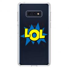 """Samsung Galaxy S10e TPU dėklas unikaliu dizainu 1.0 mm """"u-case Airskin LOL design"""""""