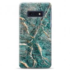 """Samsung Galaxy S10e TPU dėklas unikaliu dizainu 1.0 mm """"u-case Airskin Marble 1 design"""""""