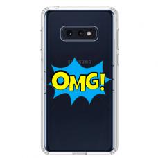 """Samsung Galaxy S10e TPU dėklas unikaliu dizainu 1.0 mm """"u-case Airskin OMG design"""""""