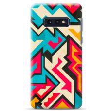 """Samsung Galaxy S10e TPU dėklas unikaliu dizainu 1.0 mm """"u-case Airskin Pattern 7 design"""""""