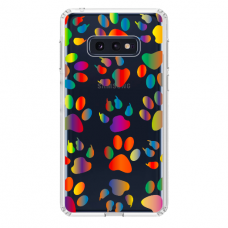 "Samsung Galaxy S10e TPU dėklas unikaliu dizainu 1.0 mm ""u-case Airskin PAW design"""