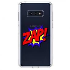 """Samsung Galaxy S10e TPU dėklas unikaliu dizainu 1.0 mm """"u-case airskin ZAP design"""""""