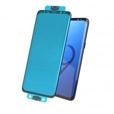 Samsung galaxy s20 3D Edge Nano Flexi Glass Hybrid Full Screen ekrano apsauginis hybridinė plėvelė juodais kraštais