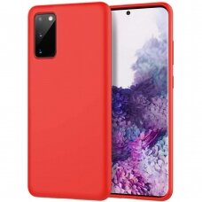 Samsung galaxy A51 Araree Typo Skin dėklas silikonas raudonas