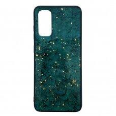 Samsung galaxy s20 dėklas Marble žalias