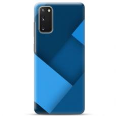 """Samsung Galaxy S20 FE TPU dėklas unikaliu dizainu 1.0 mm """"u-case Airskin Blue design"""""""