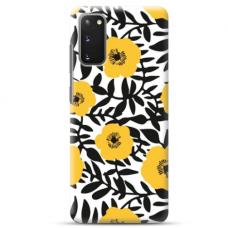 "Samsung Galaxy S20 FE TPU dėklas unikaliu dizainu 1.0 mm ""u-case Airskin Flowers 2 design"""