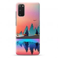 """Samsung Galaxy S20 FE TPU dėklas unikaliu dizainu 1.0 mm """"u-case Airskin Nature 5 design"""""""