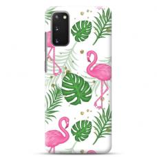 "Samsung Galaxy S20 FE TPU dėklas unikaliu dizainu 1.0 mm ""u-case Airskin Flamingos design"""