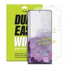 akcija! Samsung galaxy s20 plus apsauginė plėvelės Ringke Dual Easy Wing 2x skaidrios