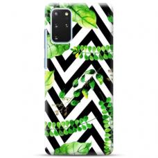 """Samsung Galaxy S20 plus TPU dėklas unikaliu dizainu 1.0 mm """"u-case Airskin Leaves 2 design"""""""