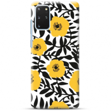 "Samsung Galaxy S20 plus TPU dėklas unikaliu dizainu 1.0 mm ""u-case Airskin Flowers 2 design"""