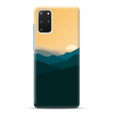 "Samsung Galaxy S20 plus TPU dėklas unikaliu dizainu 1.0 mm ""u-case Airskin Mountains 2 design"""