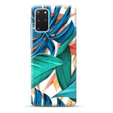 """Samsung Galaxy S20 plus TPU dėklas unikaliu dizainu 1.0 mm """"u-case Airskin Leaves 1 design"""""""