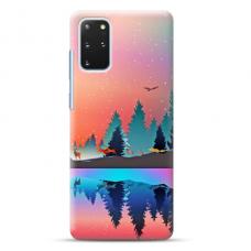 """Samsung Galaxy S20 plus TPU dėklas unikaliu dizainu 1.0 mm """"u-case Airskin Nature 5 design"""""""