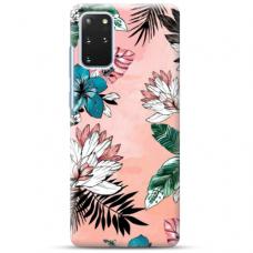 "Samsung Galaxy S20 plus TPU dėklas unikaliu dizainu 1.0 mm ""u-case Airskin Flowers 1 design"""