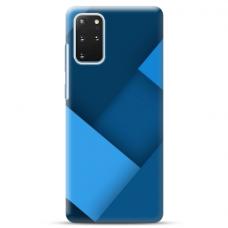 """Samsung Galaxy S20 plus TPU dėklas unikaliu dizainu 1.0 mm """"u-case Airskin Blue design"""""""