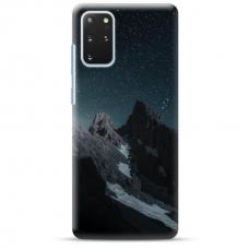 "Samsung Galaxy S20 plus TPU dėklas unikaliu dizainu 1.0 mm ""u-case Airskin Mountains 1 design"""