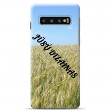 Samsung galaxy S10 Plus TPU dėklas nugarėlė su jūsų dizainu. Dėklas gaminamas su jūsų pateikta nuotrauka