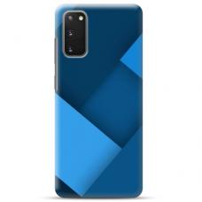 """Samsung Galaxy S20 TPU dėklas unikaliu dizainu 1.0 mm """"u-case Airskin Blue design"""""""